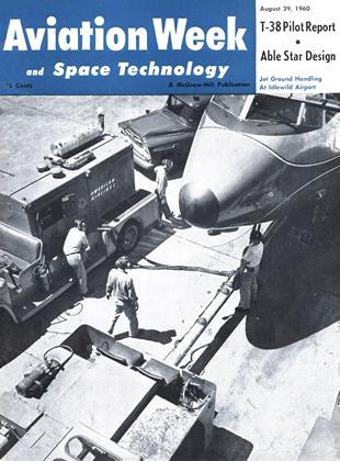 Cover for the August 29 1960 issue