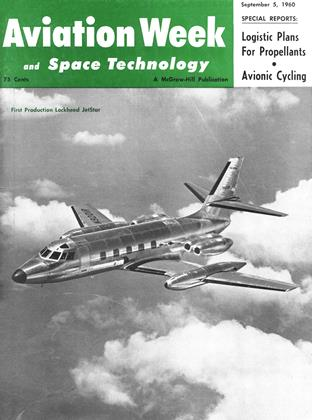 Cover for the September 5 1960 issue
