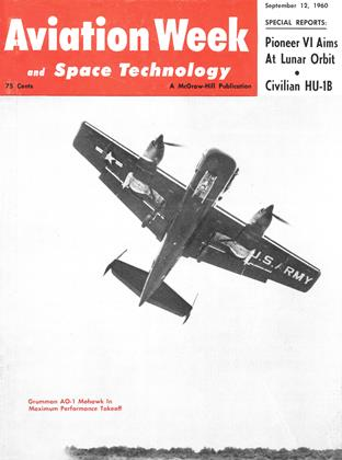 Cover for the September 12 1960 issue