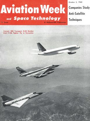 Cover for the October 3 1960 issue