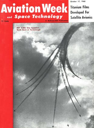 Cover for the October 17 1960 issue