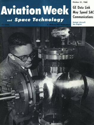 Cover for the October 31 1960 issue
