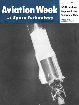 Cover for the November 14 1960 issue
