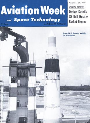 Cover for the November 21 1960 issue