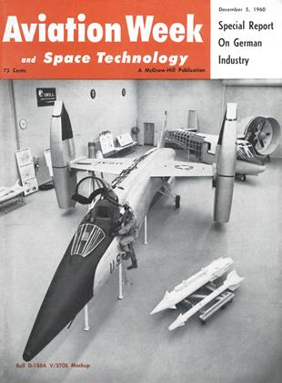 Cover for the December 5 1960 issue