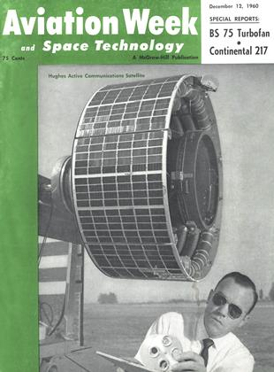 Cover for the December 12 1960 issue