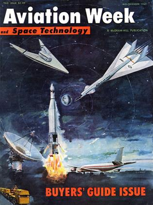 Cover for the MID-DECEMBER 1960 issue