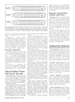 Production Briefing, Page: 63 - December 26, 1960 | Aviation Week