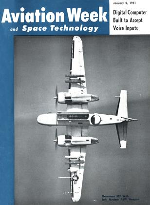 Cover for the January 2 1961 issue