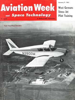 Cover for the January 9 1961 issue