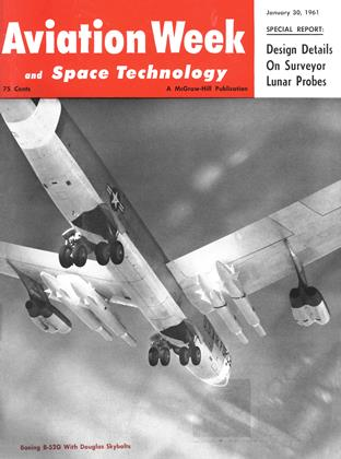 Cover for the January 30 1961 issue