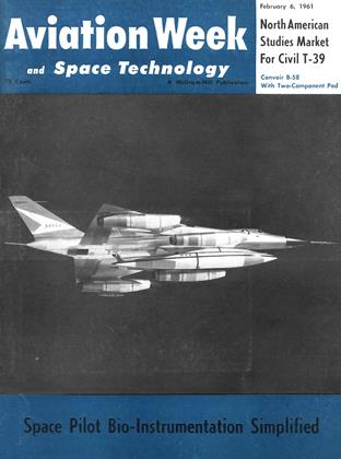 Cover for the February 6 1961 issue