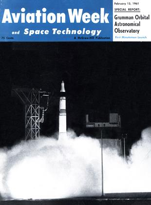 Cover for the February 13 1961 issue