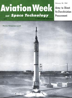 Cover for the February 20 1961 issue