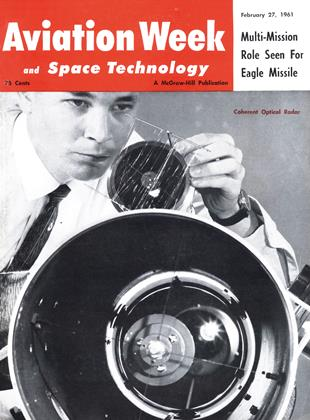 Cover for the February 27 1961 issue
