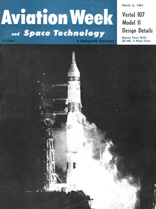 Cover for the March 6 1961 issue
