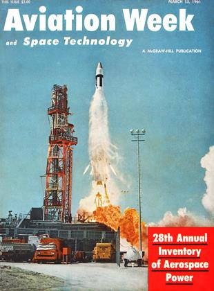 Cover for the March 13 1961 issue