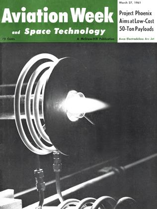 Cover for the March 27 1961 issue