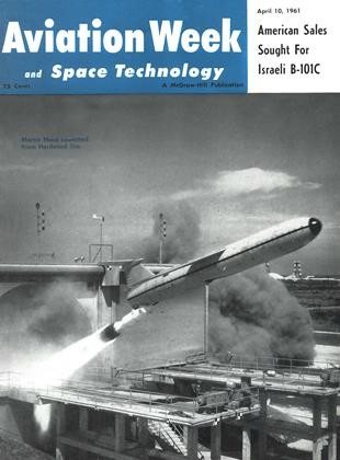 Cover for the April 10 1961 issue