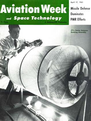 Cover for the April 17 1961 issue