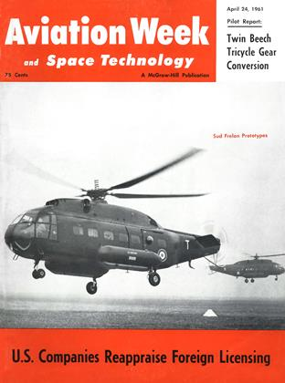 Cover for the April 24 1961 issue