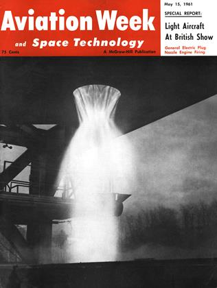 Cover for the May 15 1961 issue