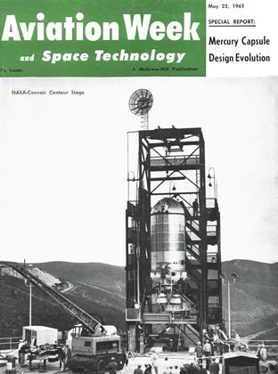 Cover for the May 22 1961 issue