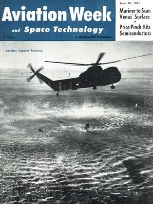 Cover for the June 12 1961 issue