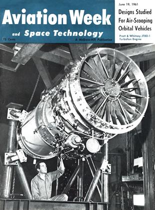 Cover for the June 19 1961 issue