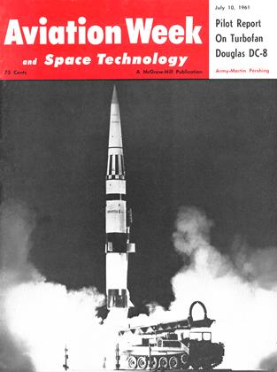 Cover for the July 10 1961 issue