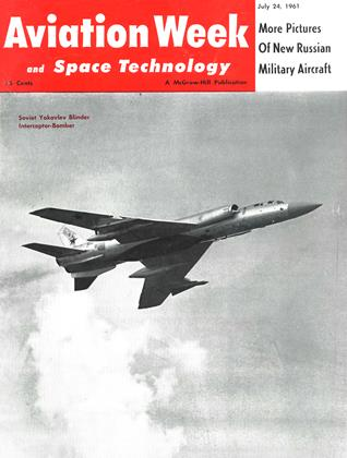 Cover for the July 24 1961 issue