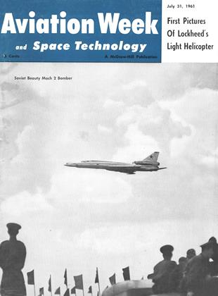 Cover for the July 31 1961 issue