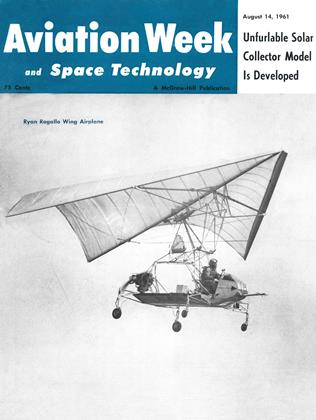 Cover for the August 14 1961 issue