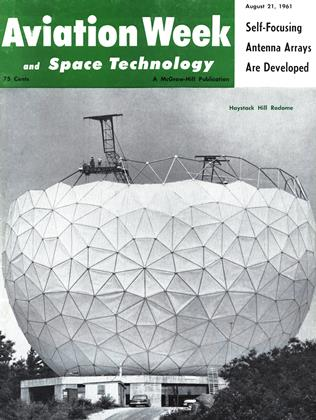 Cover for the August 21 1961 issue