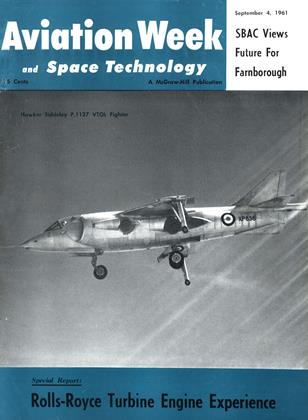 Cover for the September 4 1961 issue