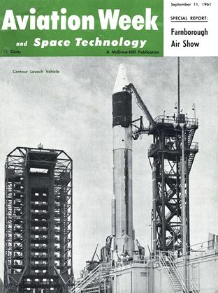 Cover for the September 11 1961 issue