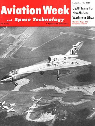 Cover for the September 18 1961 issue