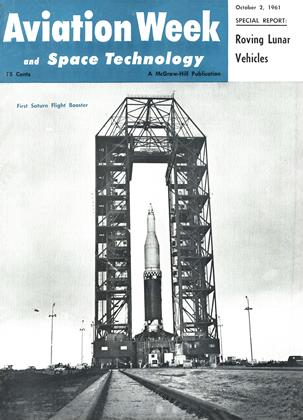 Cover for the October 2 1961 issue