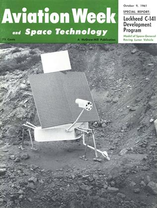 Cover for the October 9 1961 issue