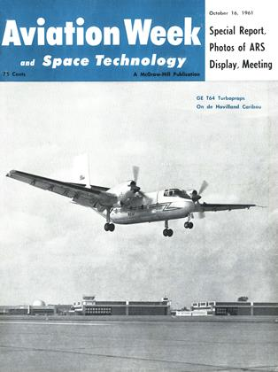 Cover for the October 16 1961 issue