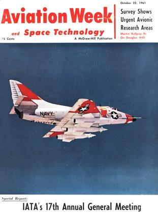 Cover for the October 23 1961 issue