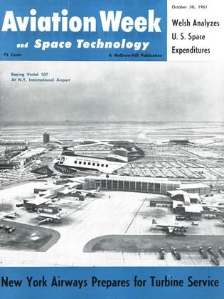 Cover for the October 30 1961 issue