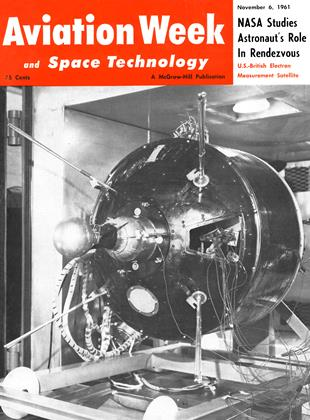 Cover for the November 6 1961 issue