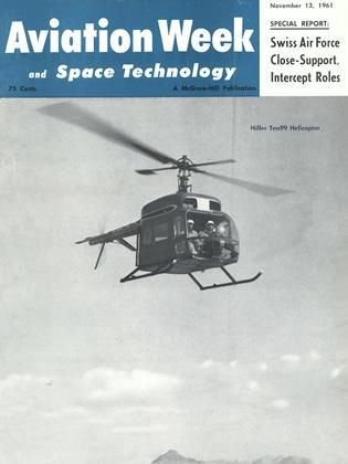 Cover for the November 13 1961 issue