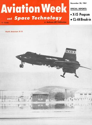 Cover for the November 20 1961 issue
