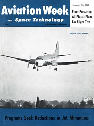 Cover for the November 27 1961 issue