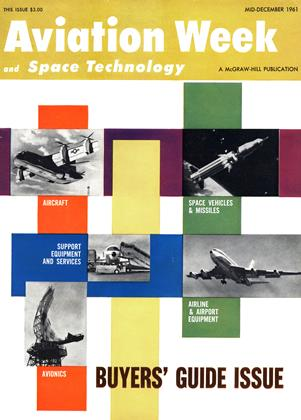 Cover for the MID-DECEMBER 1961 issue