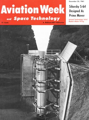 Cover for the December 25 1961 issue