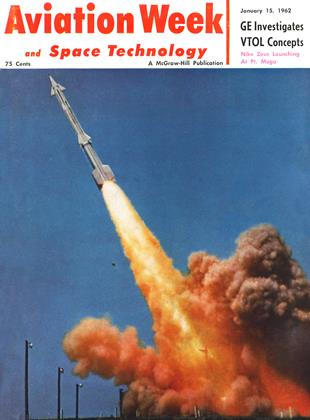 Cover for the January 15 1962 issue