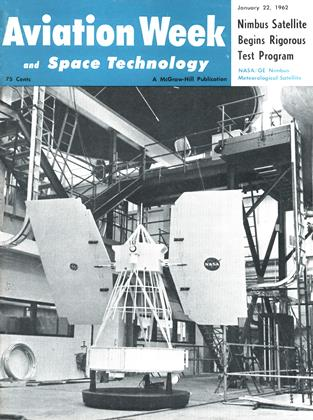 Cover for the January 22 1962 issue
